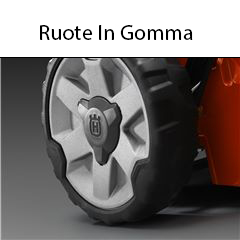 ruote in gomma